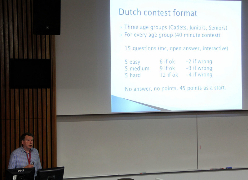 Dr Ries Kock talks about Dutch education and scoring