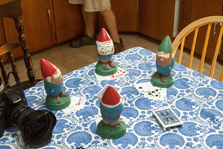 Gnomes Playing Poker