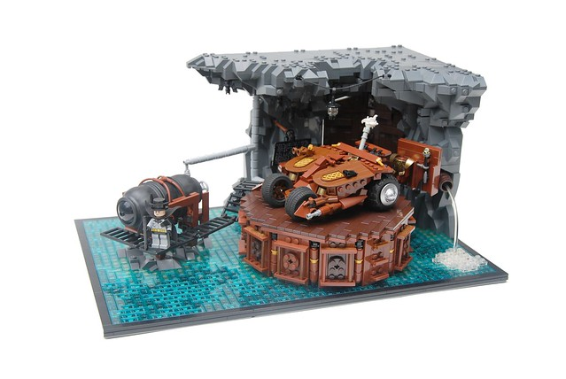Steampunk Batcave