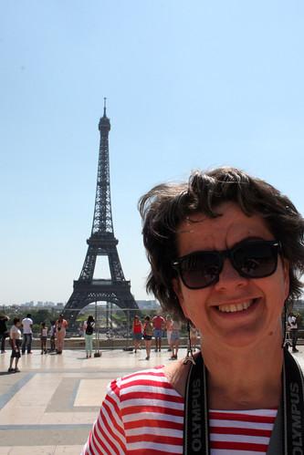 Mom and Eiffeltower