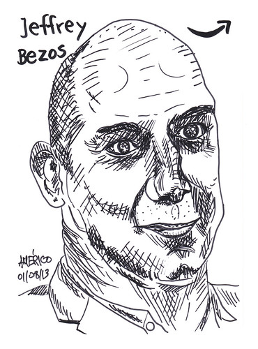 Jeffrey Bezos, CEO of Amazon.com by americoneves