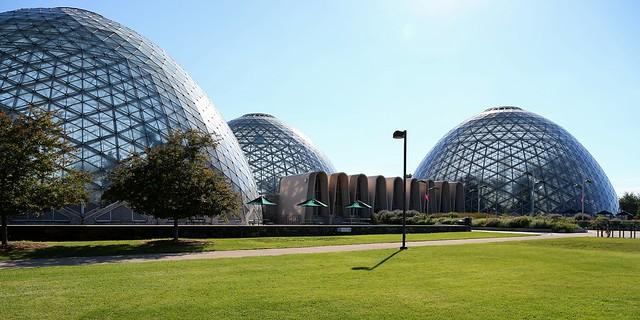 Morning at the Domes
