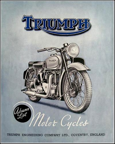 1946 Triumph by bullittmcqueen