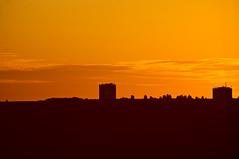 Coucher de soleil sur Canteleu
