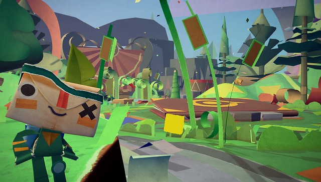 Tearaway - Screen 1