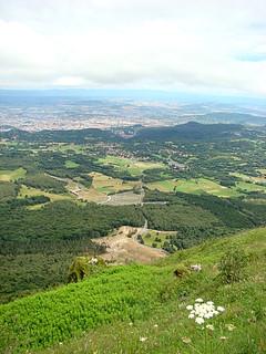 076 Uitzicht vanaf de Puy de Dome
