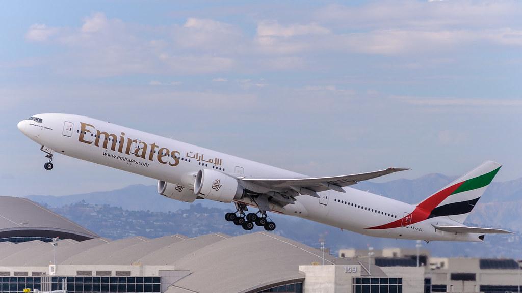 A6-EGI - B77W - Emirates