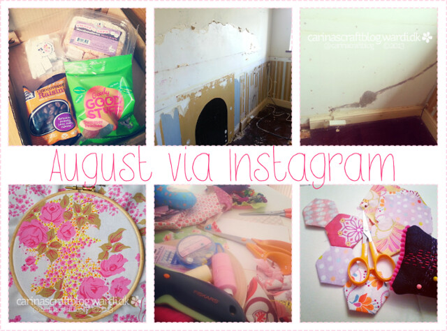 August 2013 on Instagram