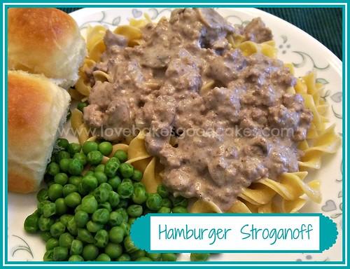 Hamburger Stroganoff