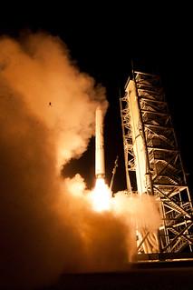 Frog Photobombs NASA's LADEE Launch