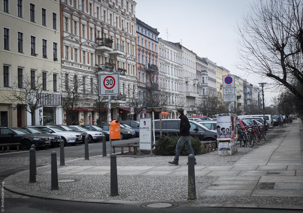 Berlin, Apartment Buildings in Prenzlauer Berg