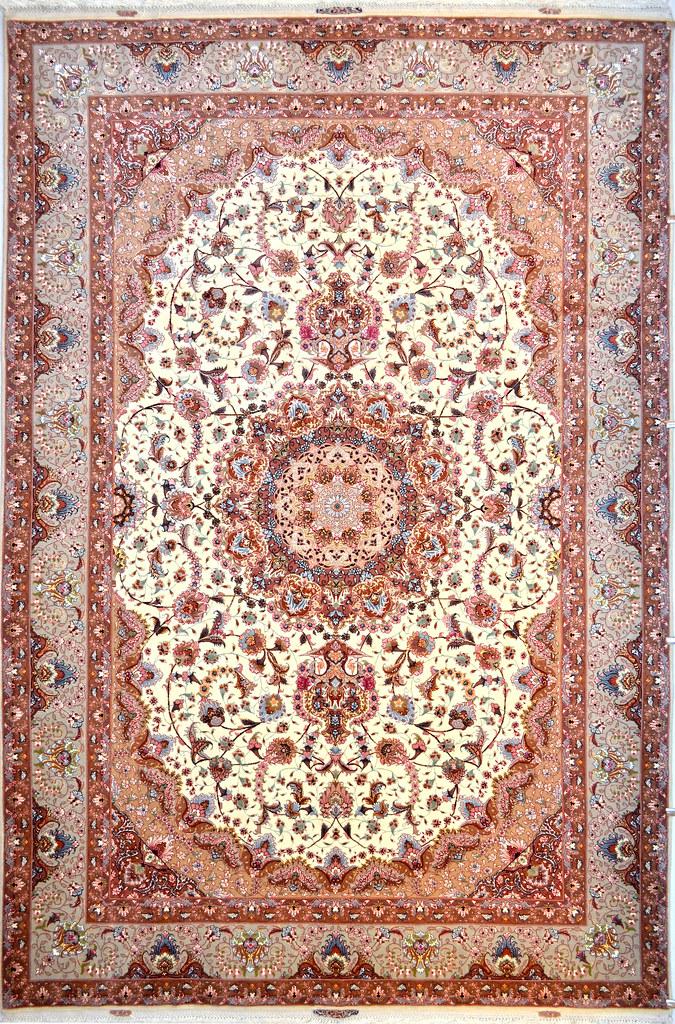 Shiva Design Tabriz Persian Area Rug 7x10