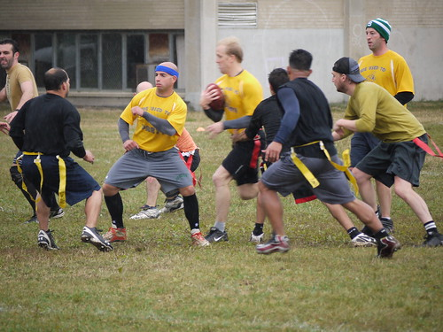 Photo Of Men Playing Flag Football - BlogAppeal.com