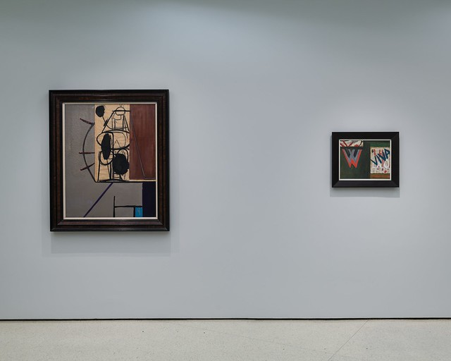 Installation View - Robert Motherwell: Early Collages