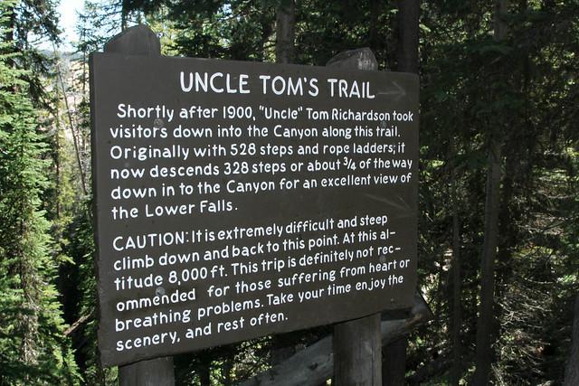 Uncle Tom's Trailhead