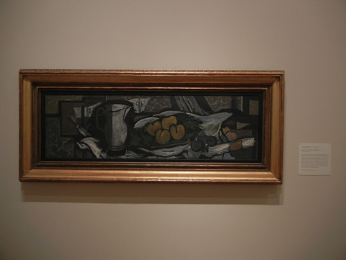 DSCN7824 _ Pitcher, Score, Fruits and Napkin, 1926, Georges Braque (1882-1963), Norton Simon Museum, July 2013