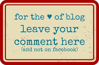 for the ♥ of blog