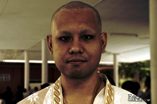 Ordenación monje budista2