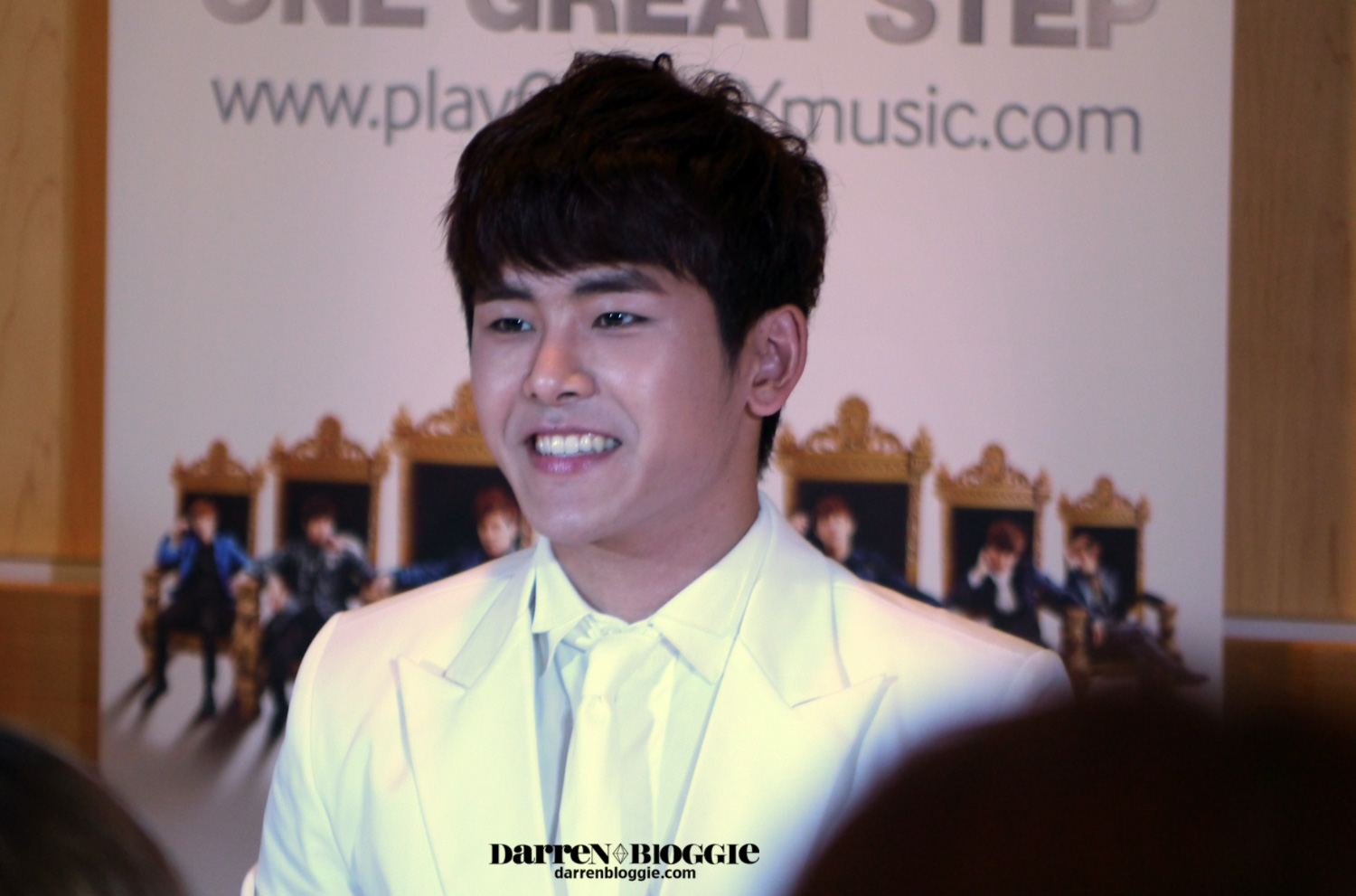"2013 INFINITE 1st World Tour ""One Great Step"" Press Conference"