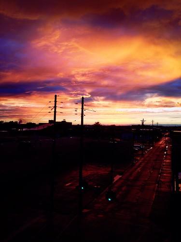 city sunset sky sunlight skyline clouds cityscape kentucky louisville originalfilter uploaded:by=flickrmobile flickriosapp:filter=original