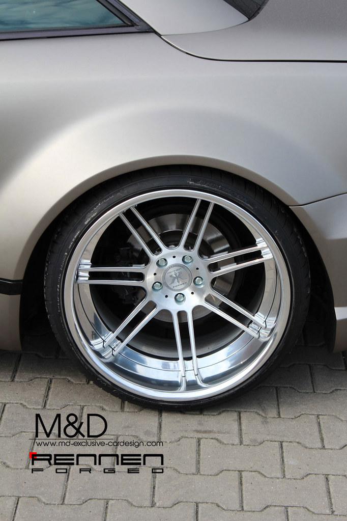 Rennen Forged Concave Wheels On Sl Widebody Conversion
