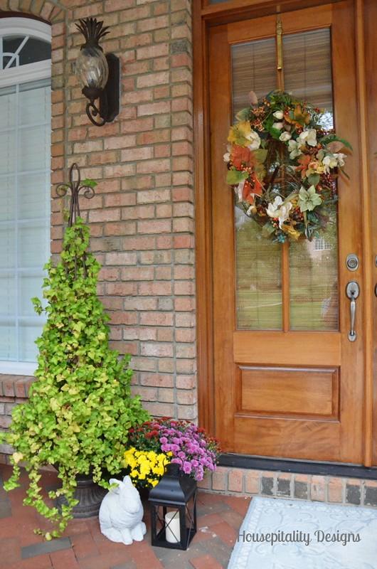 2013 Fall Porch