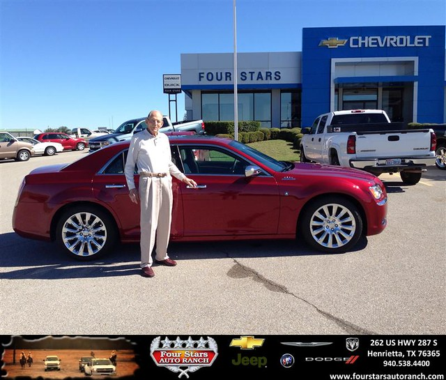 Thank You To Dwain Holmes On Your New 2013 #Chrysler #300