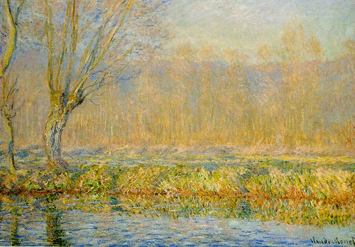 W 983 Claude Monet - The Willow aka Spring on the Epte (1885)