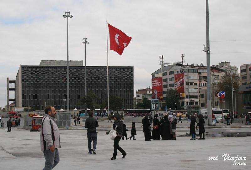Taksim square, Estambul