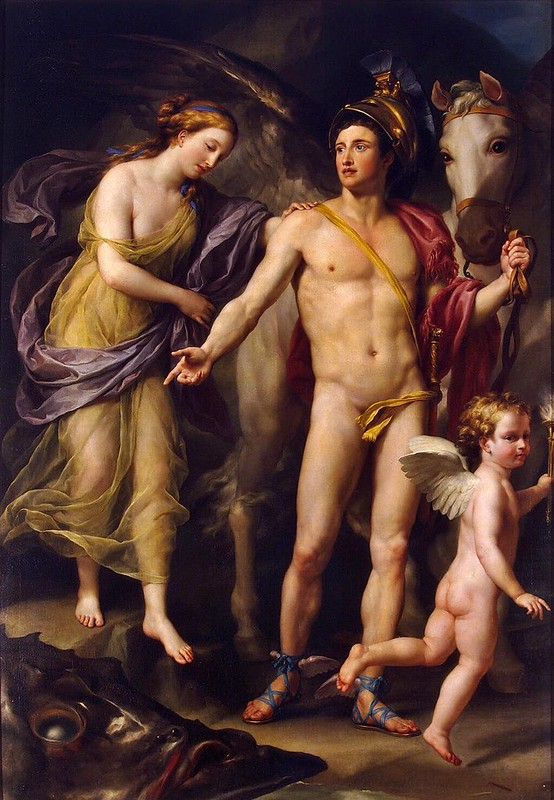 Anton Raphael Mengs - Perseus and Andromeda (c.1774)