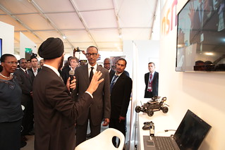 Transform Africa Summit 2013- International Exhibition tour - Kigali, 29 October 2013