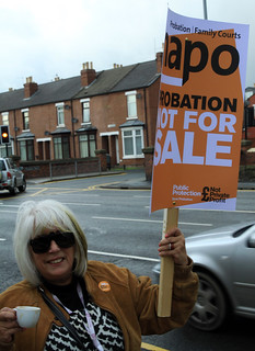 Probation strike, 5th November 2012 ~ 5