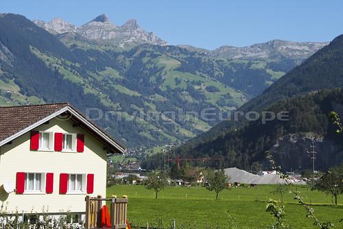 スイスでのサービスからの眺め