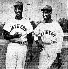 Jim (Left) and Leander (right) Tugerson (The Sporting News 4/22/1953).