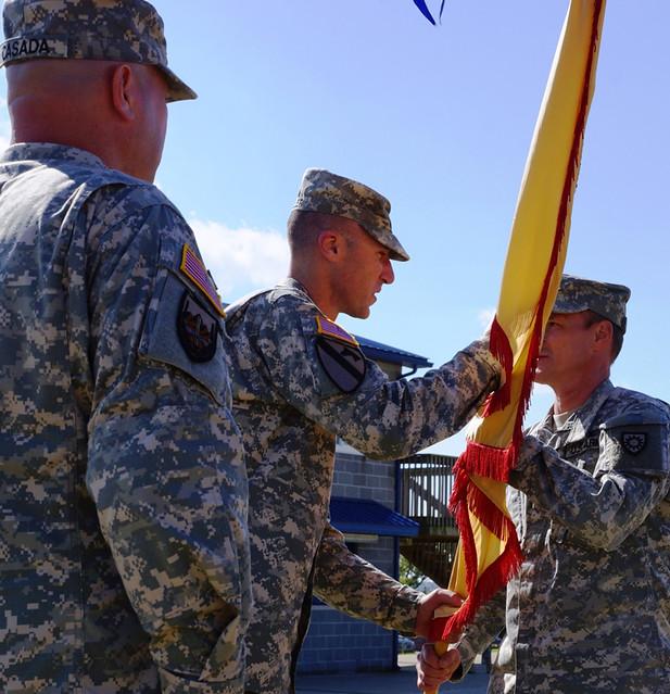 Harrodsburg Command Handoff