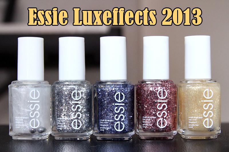 Essie luxeffects 2013