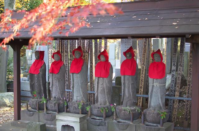 紅葉の豪徳寺 2013年11月23日