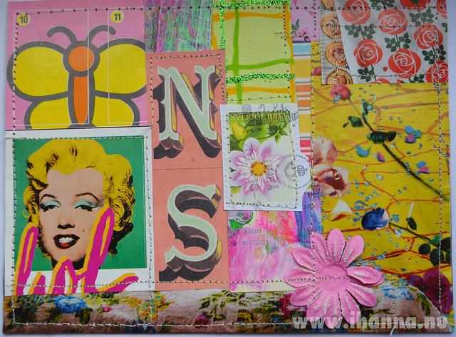 DIY Pop Art Postcard 2013