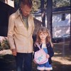 Stylin' with grandaddy, rocking the My Little Pony. #tbt