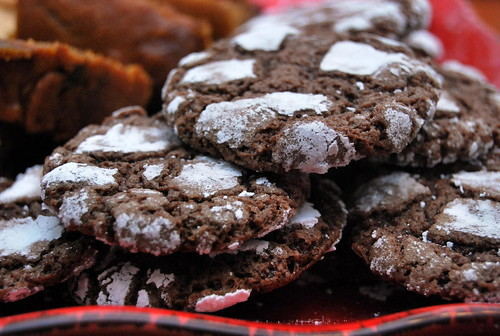 Chocolate Earthquake Cookies-001