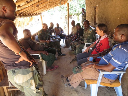 with the FARDC in Obenge