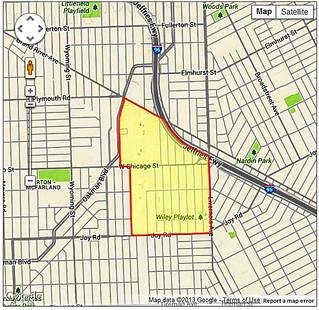 Most Dangerous Neighborhood in US 2013, Detroit MI 48204