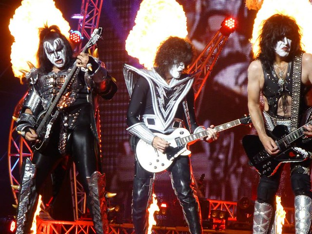 KISS - Gene Simmons, Tommy Thayer & Paul Stanley
