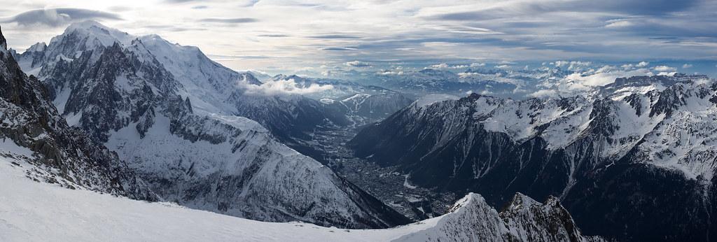 Chamonix-Mont-Blanc par Ivan Borisov