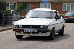 automobile, vehicle, ford capri, ford, sedan, classic car, land vehicle, coupã©, hatchback, sports car,