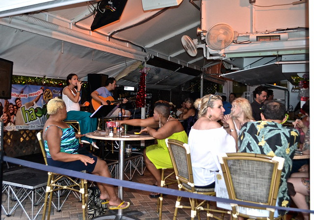 JB's on the Beach restaurant, Deerfield Beach, Florida - live music