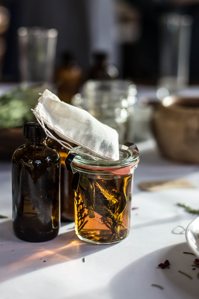 kinfolk infusions workshop TN + buttered fig + rosemary bourbon cider