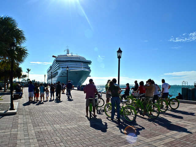 Key West, Florida- Bike Tour - mallory place