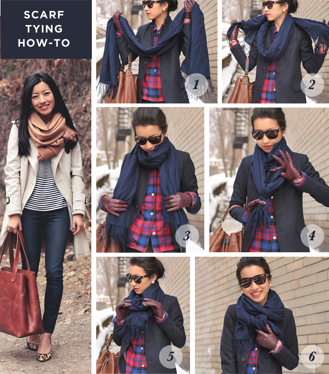 scarf tying tutorial