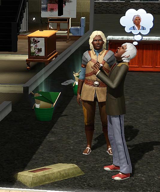 sims 3 flirt with death